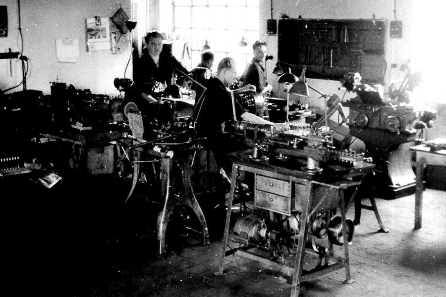 Die Gründer von Müller Präzisions-Metallbearbeitung